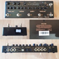 NUX Cerberus Analog Overdrive Distortion True Bypass Delay Modulation