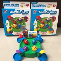Mainan edukasi seru anak Scramble Game / Mainan Edukasi Katak Kodok