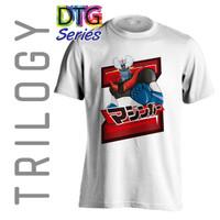 Kaos Premium - Mazinger Z - Mazinga Z - TRILOGY DTG 0174 - ANIME - Putih, S