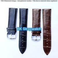 Strap Tali Jam Tangan Kulit Leather Motif 24mm model Timeking BL1
