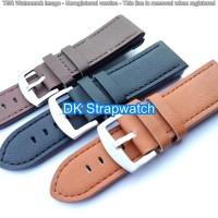 Strap Tali jam tangan kulit leather Pria 26mm Tali jam kulit BZ26