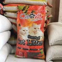 Pasir Kucing Wangi Cub n Kit / Scented Cat Litter 20 Kg