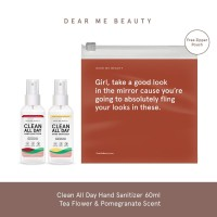 Clean All Day Hand Sanitizer Bundle - Tea Flower & Pomegranate Scent
