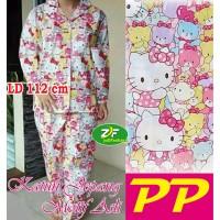 Piyama PP XXL - Katun Jepang / Baju Tidur Murah Karakter Hello Kitty 2