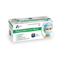 Masker Bedah Surgical Disposable 3 Ply (isi 50 pcs/box) anti virus apd