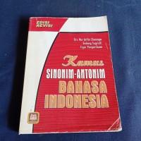 KAMUS SINONIM ANTONIM BAHASA INDONESIA DRS NUR ARIFIN CHANIAGO