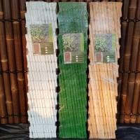 TERLARIS Pagar Taman - Pagar Rambat - Teralis Kayu - Uk. 100x150cm -