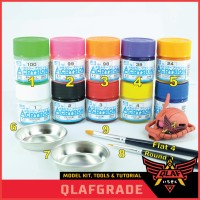 PAKET CAT MR ACRYSION - BASIC for beginner Model Kit Gundam paint cat
