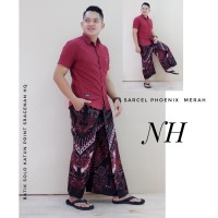 Batik Solo Sarung Celana Batik Phoenix Merah NH Batiksoloamanah 135.00