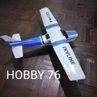 Rc plane rc pesawat Kit cessna 182 gabus
