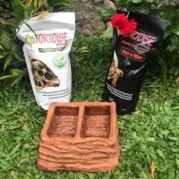 Paket Siap Makan Tortoise & Water Dish