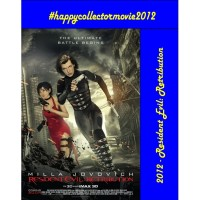 DVD - Resident Evil: Retribution (2012)