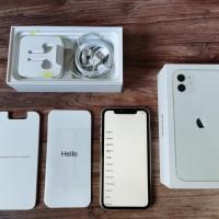 IPHONE 11 64 gb White mulus Full Original Garansi Resmi iBox Bs Gosend