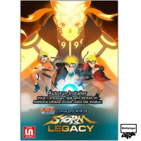 Naruto Shippuden Ultimate Ninja Storm Legacy - PC DVD Game Fight