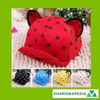 Topi Kupluk Bayi / Anak Laki-laki / Perempuan Desain Telinga Kucing