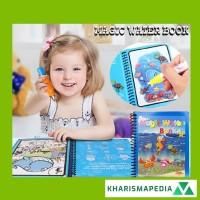 MAGIC WATER BOOK / WATER DRAWING / BUKU MEWARNAI ANAK MAGIC PENA AIR