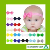Bandana Bando Pita 20 Warna untuk Aksesoris Rambut Bayi / Anak