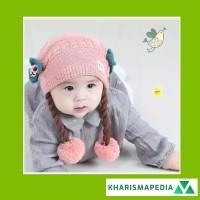 TOPI RAMBUT KEPANG / BABY HAT WIG TOPI KUPLUK BAYI ANAK RAMBUT KEPANG