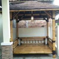gazebo bambu depok 001