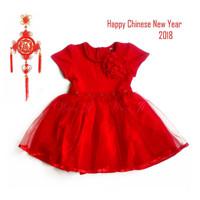 Dress xincia anak 4-10 tahun | baju imlek 2018 |sincia cheongsam