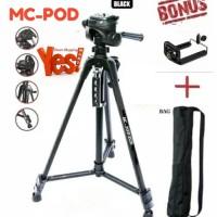 Tripod Weifeng Portable Lightweight Video & Camera WT-3520 Black
