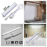 Lampu Neon USB Strip LED 22 Belajar Kerja Kamar Tidur Dapur Meja Baca