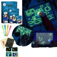 Luminous Drawing Board A5 Papan Tulis Anak Magic Menulis Dengan Cahaya