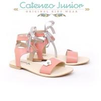 Sandal Flat Tali Anak Perempuan Sendal Pesta Catenzo CDS054