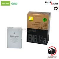 Battery/baterai/batre Nikon EN-EL14a