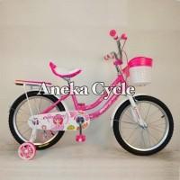 Sepeda Anak Perempuan Mini Evergreen Daisy 16 Sepeda Cewek Roda Empat