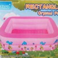 Kolam kotak Saintive Rectangle Crystall Pool 120CM SY-A1030