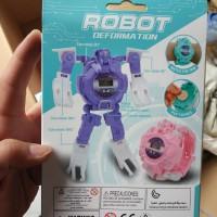 Grosir jam tangan robot - robot watch deformation 628