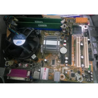 MOTHERBOARD Mainboard G41 LGA 775 Intel G41 DDR2 PLUS RAM 2GB & HSF