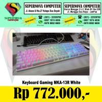 Keyboard Armaggeddon Mka-13R Rgb White