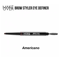 Make Over Brow Styler Eye Definer / Pensil Alis Matic - Americano