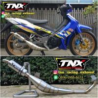 Knalpot Satria 2 Tak Standar Racing Stainless TNX Racing Product