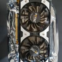 Vga pc/komputer Zotac Nvidia Gt 740 1gb ddr5 like new seperti baru