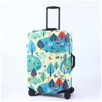 sarung koper / Luggage cover elastis full print edition SIZE SMALL