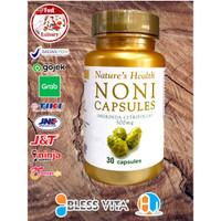 Nature's Health Noni Capsules 500mg 30 Caps Natures