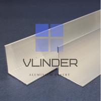 Siku Aluminium 25.4 mm x 25.4 mm, t. 1.65 mm