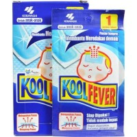 Kool Fever Plaster Kompres Anak Biru - 1 lembar