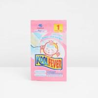 Kool Fever Plester Kompres Anak Pink - 1 lembar