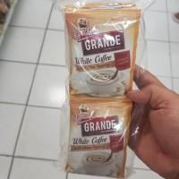 KOPI KAPAL API GRANDE WHITE COFFEE SACHET 3 in 1 isi 10 Per Pack