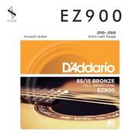 Senar Gitar DAddario String Akustik .010-0.50 85/15 BRONZE EZ900