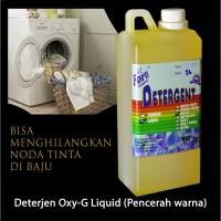 (Pencerah Warna) Deterjen Cair Oxy-G Liquid 1 Liter