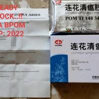 Lianhua Qingwen 12 Capsules Bpom Obat Herbal Demam Flu dan Tenggorokan