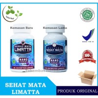 Sehat Mata Limatta - Obat Herbal Berkhasiat Khusus Mata - BPOM & Halal