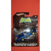 Hotwheels Batman Batmobile - 1980s Batmobile ukuran 1 banding 50