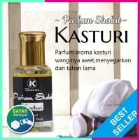 TERLARIS !!! PARFUM SHOLAT AROMA KASTURI KUNING - 100 % BIBIT ORIGINAL