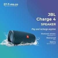 JBL Charge 4 Portable Waterproof Wireless Bluetooth Speaker - Blue
